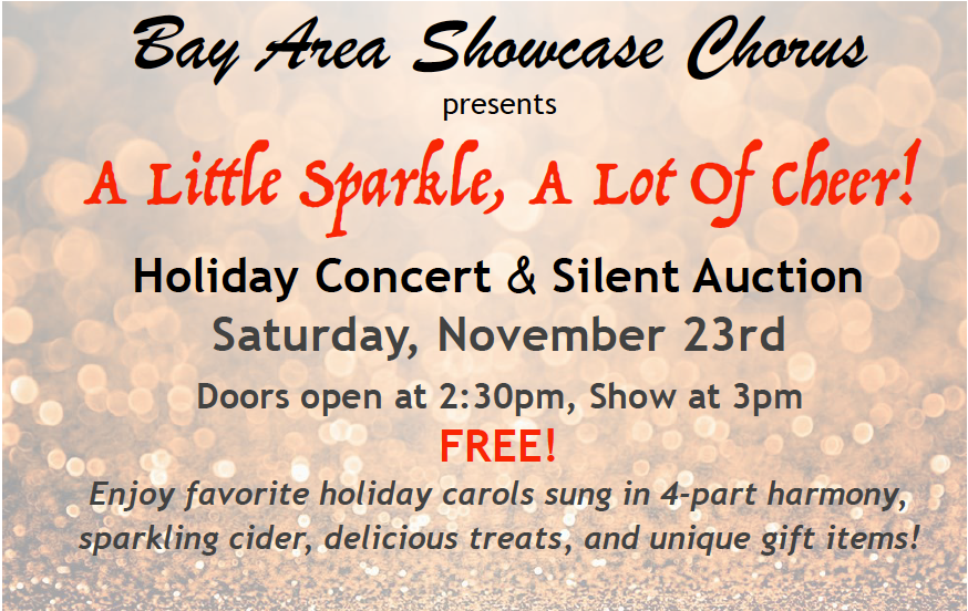 Holiday Concert & Silent Auction 2019