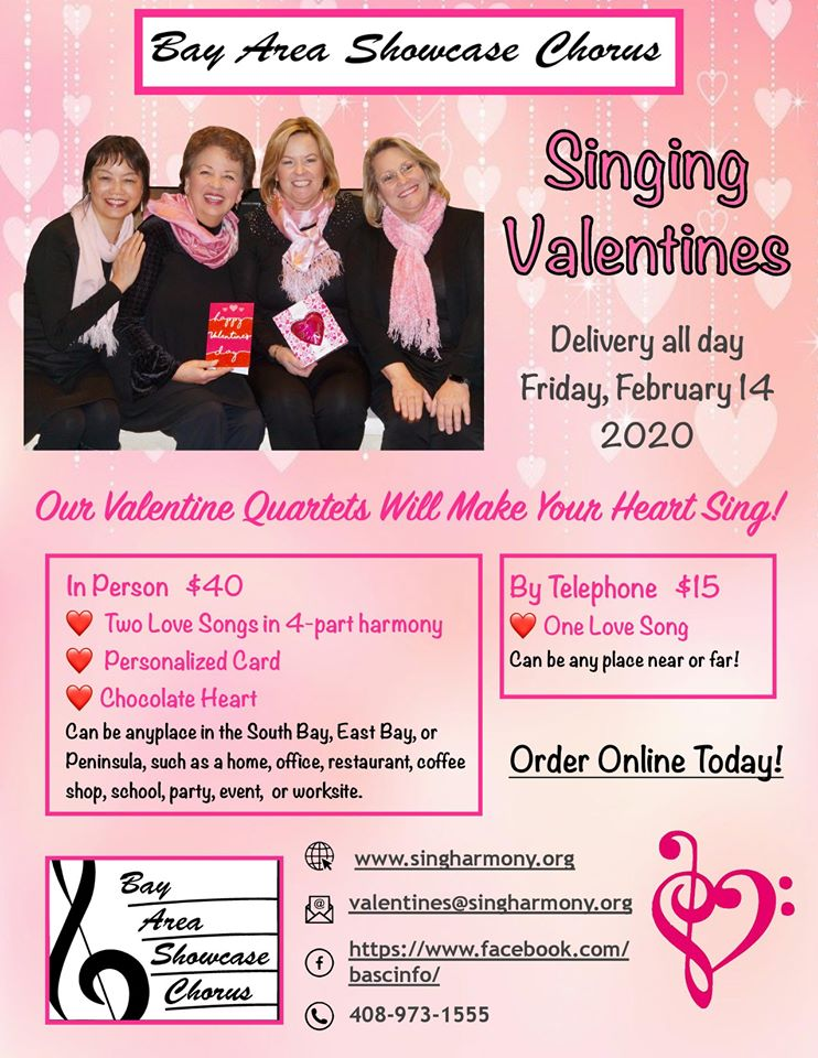 Singing Valentines 2020 (archived)